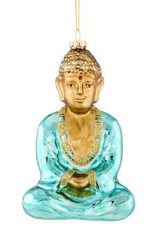 Hänger Buddha türkis
