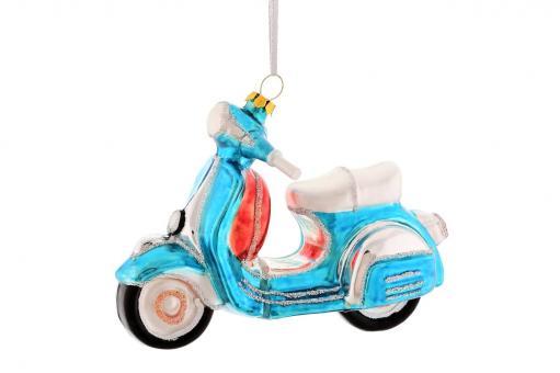 Hänger Motorroller, blau