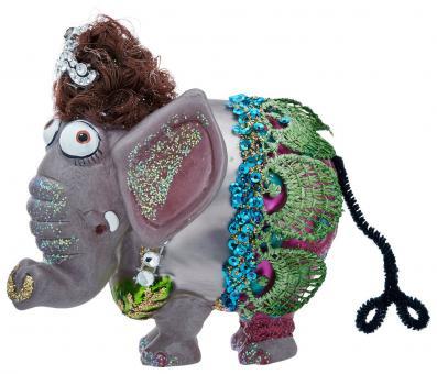 Hänger Elefantendame bunt