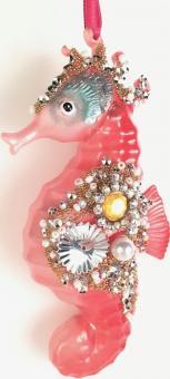Hänger Seepferdchen rosa