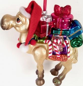Hänger Kamel mit Geschenken