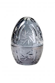 Ei aus Glas Pearl, Farbe Grau