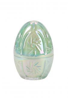 Ei aus Glas Pearl, Farbe Grün