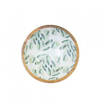 Salatschale Olive Größe S