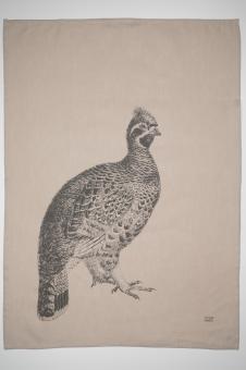 Geschirrtuch Halbleinen, Pheasant