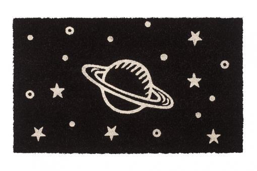 Fußmatte GLOW, Saturn
