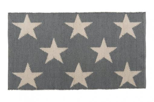 Teppich Bodenschatz, Sterne, Farbe Grau