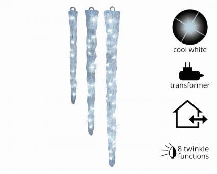 LED Acryl Eiszapfen Outdoor