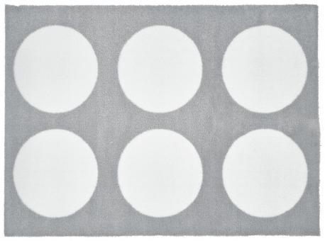 Fußmatte White Dots waschbar