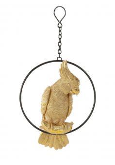 Hänger Kakadu auf Ring