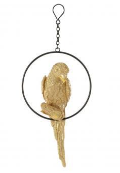 Hänger Papagei auf Ring