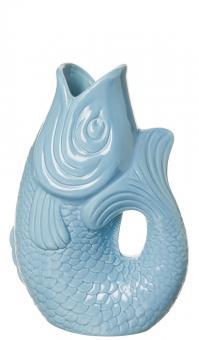 Karaffe/Vase Monsieur Carafon Fresh Water Blue