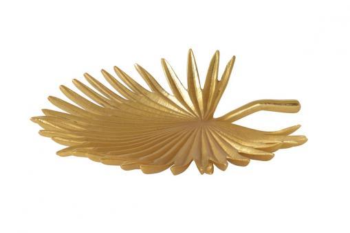 Gotham Schale Palmenblatt, shiny gold