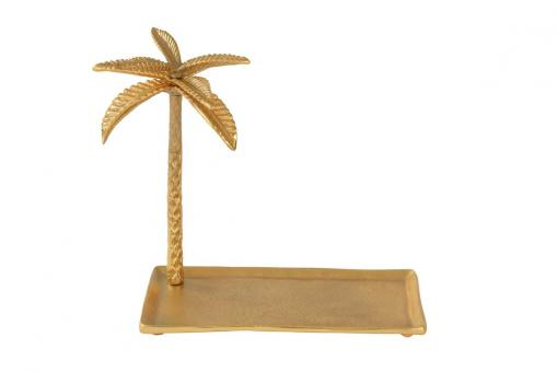 Gotham Tablett mit Palme, gold