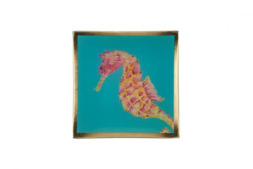 Glasteller, Cote D'Azur, Seepferdchen