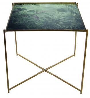 Tabletttisch Jungle Gold