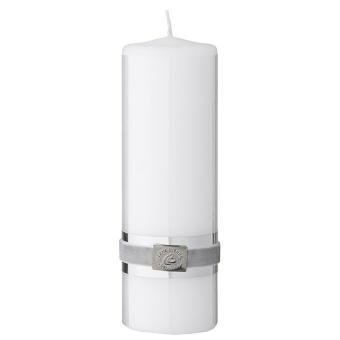 Basic Kerze Weiss 18cm