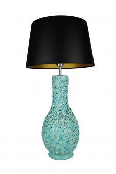 Tischlampe Capri Farbe Türkis