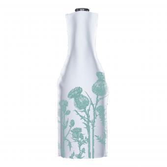 Flaschenhusse Diestel, Farbe Pastellgrün