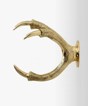Claw Wallmount Brass für Gartenschlauch von Garden Glory® Farbe Gold