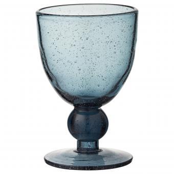 Weinglas Agine blau