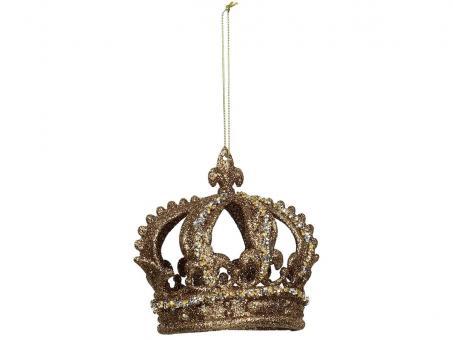 Hänger Krone, Farbe Gold