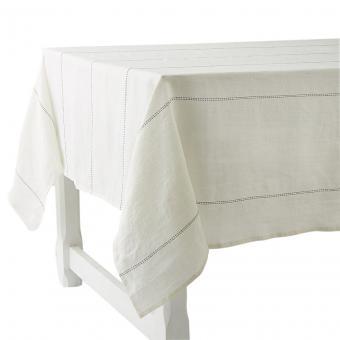 Tischdecke Rythmo Weiß