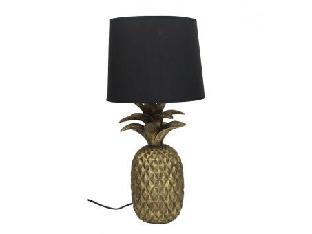 Tischlampe Pineapple, Farbe Gold
