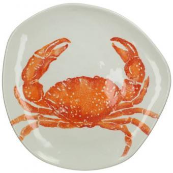 Platte Krabbe