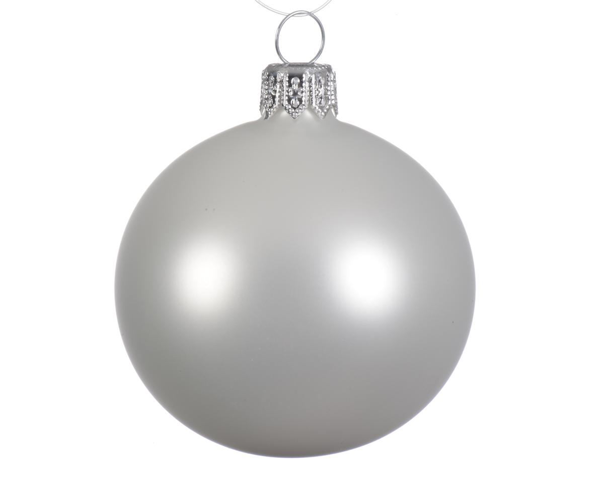Weihnachtskugeln Matt Farbe Weiß | online kaufen