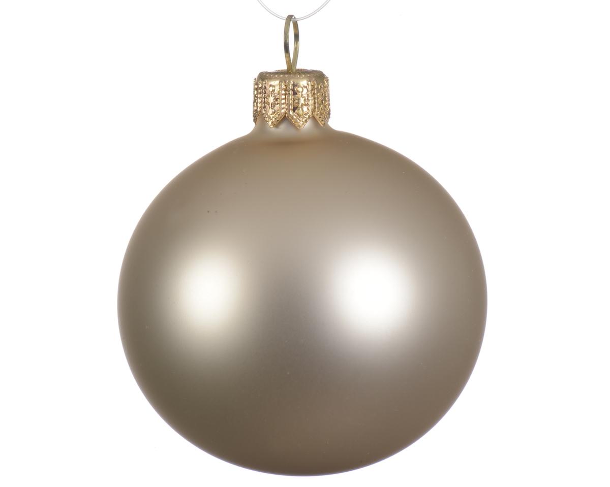 Weihnachtskugeln Matt Farbe Perle | online kaufen