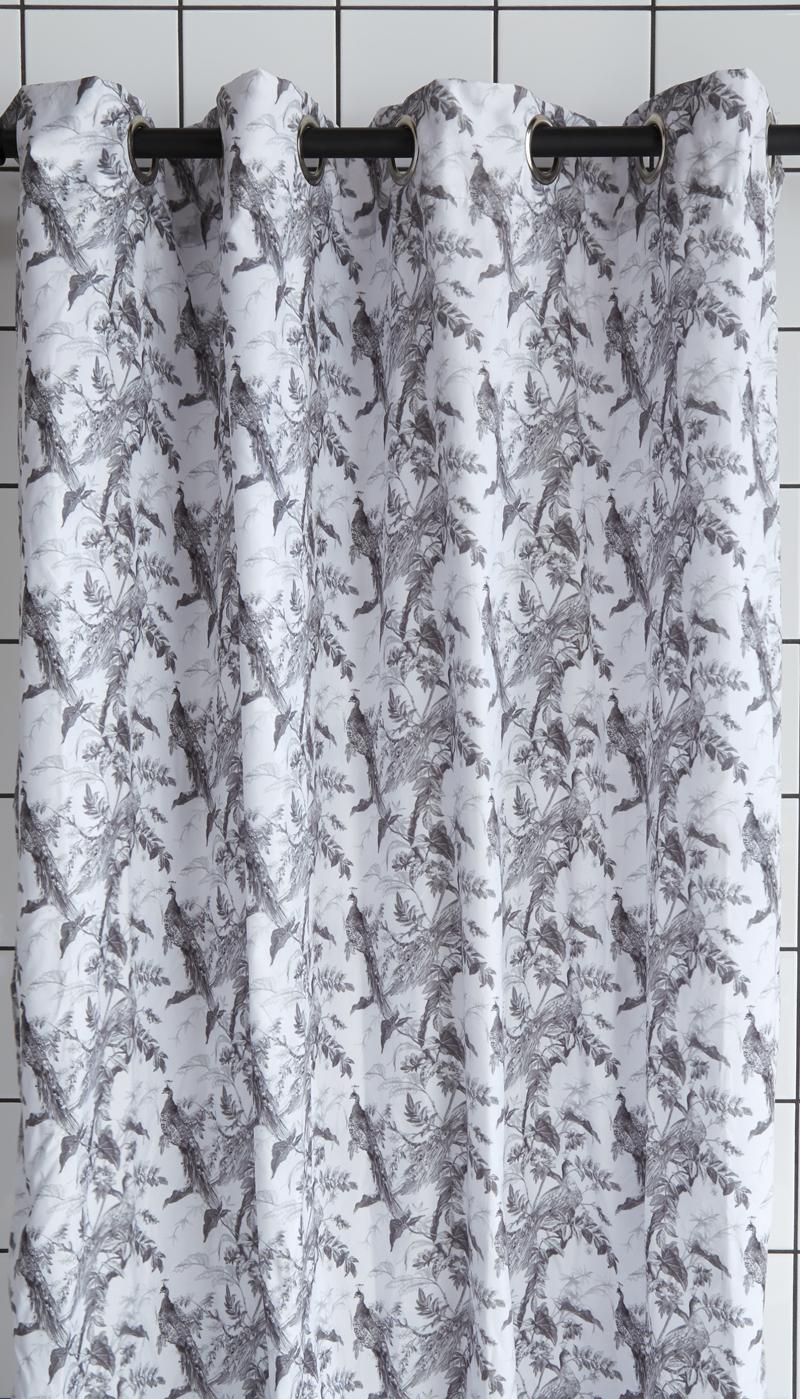 Duschvorhang Spring White Charcoal Bad Online Kaufen