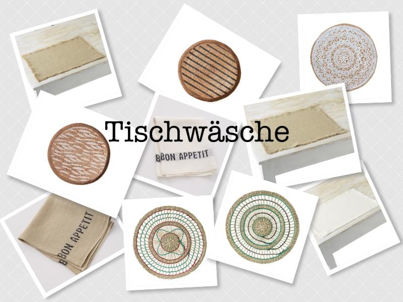 Tischwäsche September